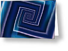 Predominantly Blue Greeting Card