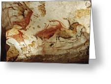 Prehistoric Artists Painted Robust Greeting Card