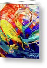 Premorphationism Glass Greeting Card
