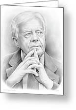 President Carter Greeting Card