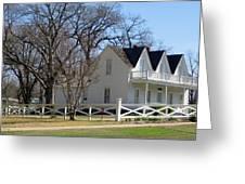 President Dewight Eisenhower Birthplace Greeting Card