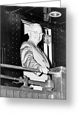 President Harry Truman Greeting Card