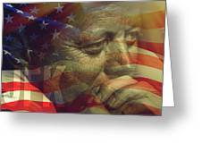 President Kennedy - Digital Art Greeting Card