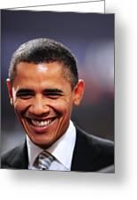 President Obama IIi Greeting Card