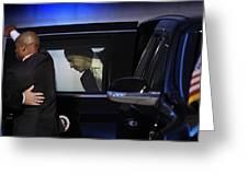 President Obama Vi Greeting Card