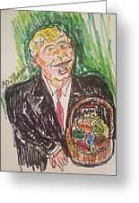 President Trump Greeting Card