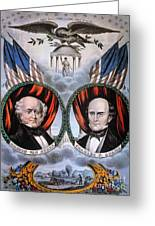 Presidential Campaign, 1848 Greeting Card by Granger