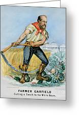 Presidential Campaign, 1880 Greeting Card