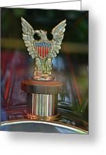 Presidential Hood Ornament Greeting Card