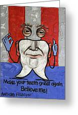Presidential Tooth 2 Greeting Card
