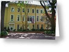 President's Residence University Of South Carolina Greeting Card