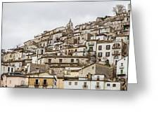 Pretoro - An Ancient Village  Greeting Card