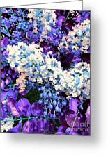 Pretty Cluster Greeting Card