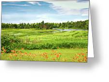 Pretty Countryside Greeting Card