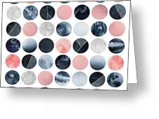 Pretty Dots Greeting Card