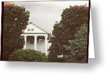 Pretty House Greeting Card