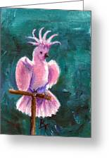 Pretty In Pink Aceo Greeting Card