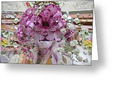Pretty In Purple Greeting Card