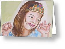 Pretty Princess Greeting Card