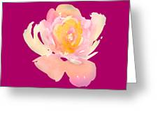 Pretty Watercolor Flower Greeting Card