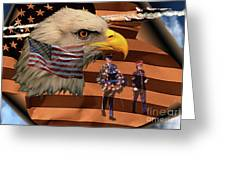 Price Of Freedom Greeting Card