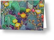 Prickly Pear Cactus 2 Greeting Card