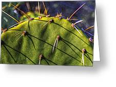Prickly Pear Study No. 9 Greeting Card