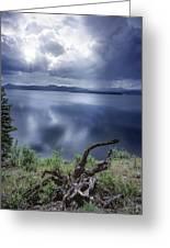 Priest Lake Light Greeting Card