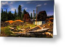 Priest Lake Mill Greeting Card