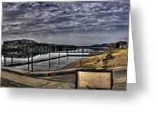 Priest River Panorama 6 Greeting Card