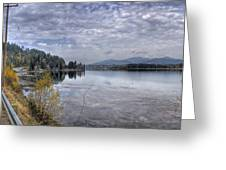 Priest River Panorama 8 Greeting Card