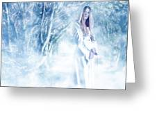 Priestess Greeting Card