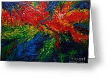 Primary Abstract II Greeting Card