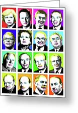 'prime Ministers Question Time X 16' Greeting Card