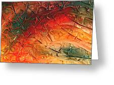 Primitive Abstract 1 By Rafi Talby Greeting Card