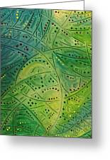 Primitive Abstract 2 By Rafi Talby Greeting Card