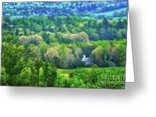 Primitive Baptist Church Of Cades Cove Greeting Card