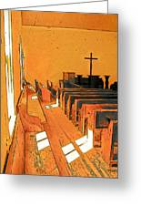 Primitive Church - Sunday Morning Greeting Card