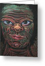 Primitive Man Greeting Card