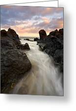Primordial Tides Greeting Card