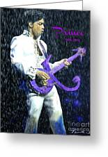 Prince 1958 - 2016 Greeting Card