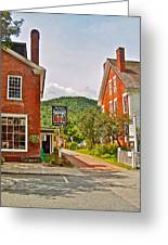 Prince And The Pauper Restaurant In Woodstock-vermont  Greeting Card