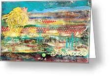 Princess And The Pea Greeting Card