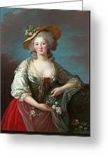 Princess Elisabeth Of France Greeting Card