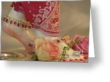 Princess Feet Greeting Card