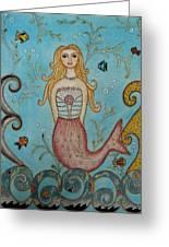 Princess Mermaid Greeting Card