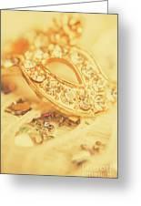 Princess Pendant Greeting Card