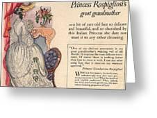 Princess Rospigliosi Ephemera Vintage Greeting Card