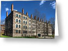Princeton University Dod Hall Greeting Card