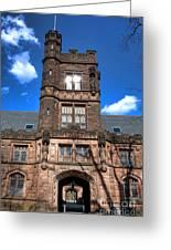 Princeton University East Pyne Hall  Greeting Card